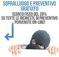 Preventivi Impianti Allarme Roma